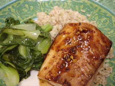 Asian mahi mahi recipe