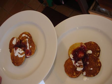 Chestnut Pancakes With Bacon And Creme Fraiche Recipe ...